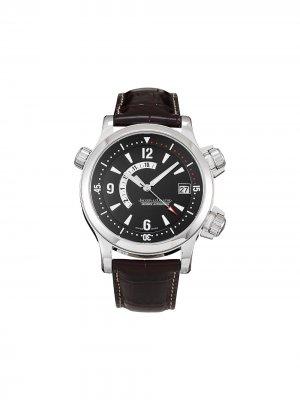Наручные часы Memovox pre-owned 41 мм 2003-го года Jaeger-LeCoultre. Цвет: черный