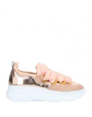 Низкие кеды и кроссовки 181 by ALBERTO GOZZI. Цвет: светло-розовый