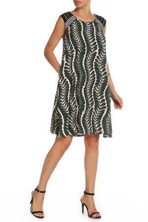 Платье Beatrice. B. Цвет: светло-розовый, зеленый