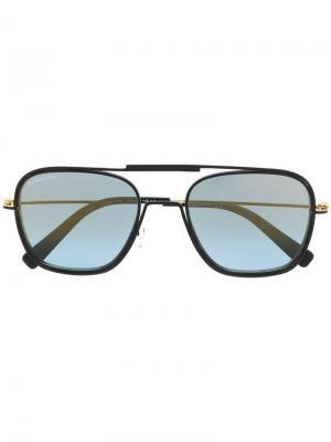 Солнцезащитные очки Finn Dsquared2 Eyewear. Цвет: черный
