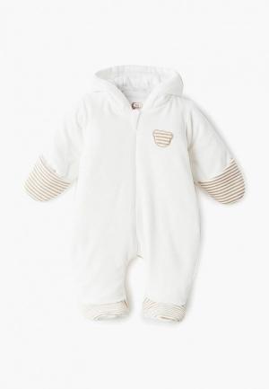 Комбинезон утепленный Fim Baby. Цвет: белый