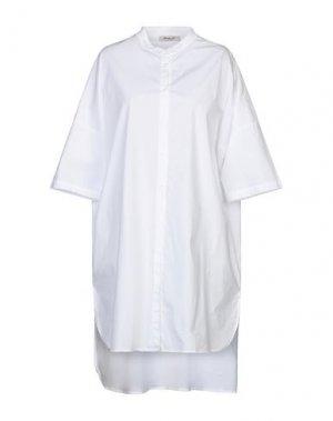 Платье до колена MAMA B.. Цвет: белый