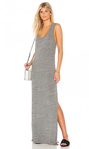 Платье tri me LA Made. Цвет: серый