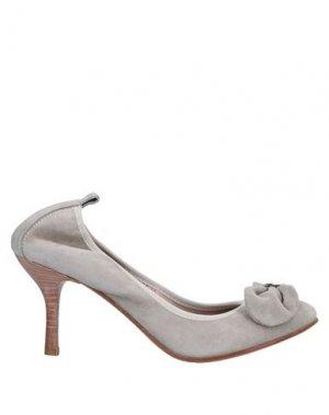 Туфли LAURA BELLARIVA. Цвет: светло-серый