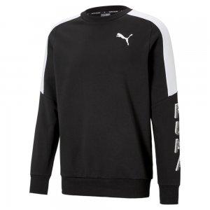 Толстовка Modern Sports Crew Neck Mens Sweater PUMA. Цвет: черный