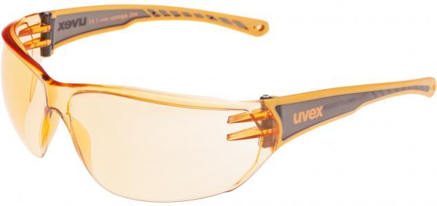 Солнцезащитные очки Sportstyle 204 Uvex. Цвет: оранжевый