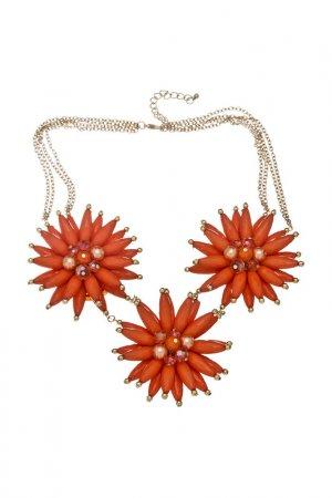 Ожерелье Victoria Le Land. Цвет: оранжевый