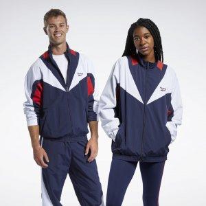 Спортивная куртка Classics Twin Vector Reebok. Цвет: vector navy