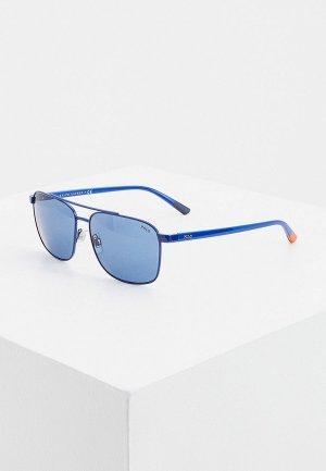 Очки солнцезащитные Polo Ralph Lauren PH3135 910280. Цвет: синий