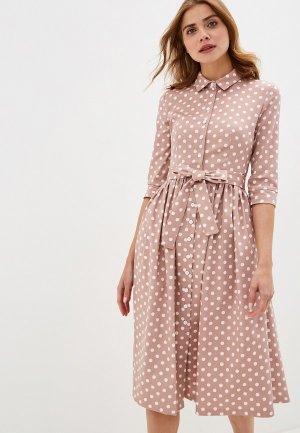 Платье Vika Ra. Цвет: розовый