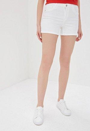 Шорты джинсовые Only. Цвет: белый