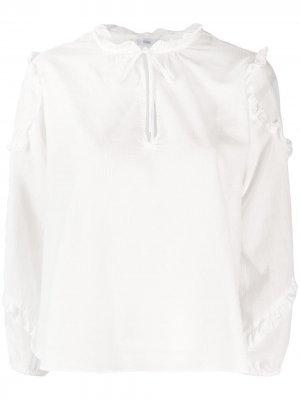 Блузка-туника в полоску Closed. Цвет: белый