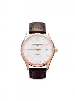 Наручные часы Classics Index Automatic 40 мм Frédérique Constant. Цвет: белый