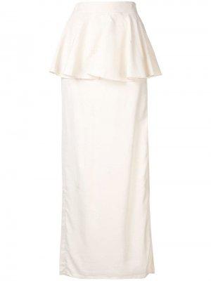 Жаккардовая юбка макси Donna Palmer / Harding