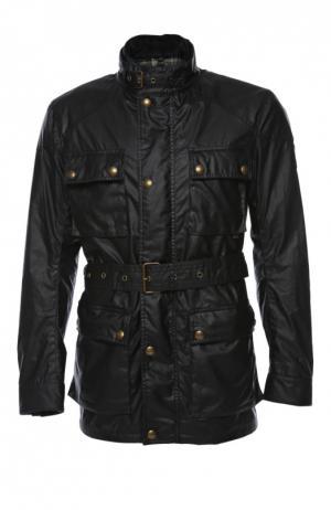 Куртка с жилетом и поясом Belstaff. Цвет: темно-синий