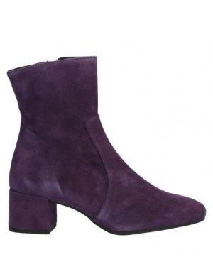 Полусапоги и высокие ботинки PEDRO MIRALLES. Цвет: фиолетовый