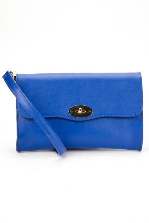 Клатч LE CAMP. Цвет: синий