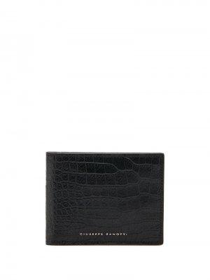 Бумажник Albert Giuseppe Zanotti. Цвет: черный