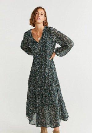 Платье Mango - LIBERTY. Цвет: разноцветный