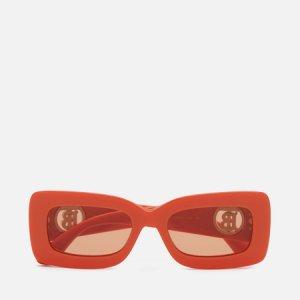 Солнцезащитные очки Astrid Burberry. Цвет: оранжевый