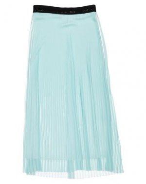 Длинная юбка NOLITA. Цвет: небесно-голубой