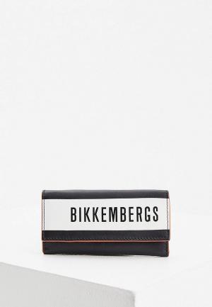 Ключница Bikkembergs. Цвет: черный