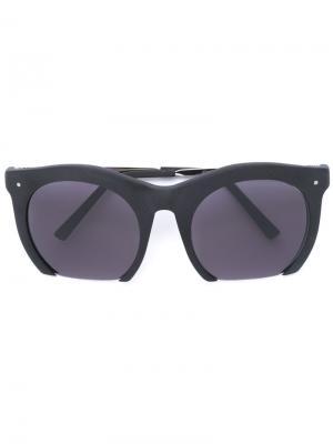 Солнцезащитные очки Grey Ant. Цвет: чёрный