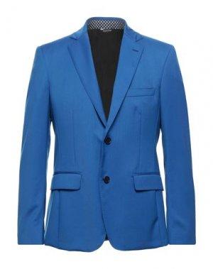 Пиджак YOON. Цвет: синий