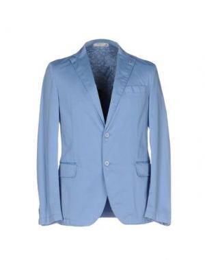 Пиджак MANUEL RITZ WHITE. Цвет: небесно-голубой