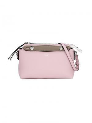 Маленькая сумка на плечо Fendi Kids. Цвет: розовый