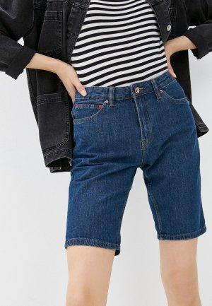Шорты джинсовые Colins Colin's. Цвет: синий