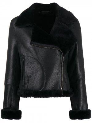 Укороченная куртка Aysha Ann Demeulemeester. Цвет: черный