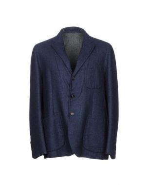 Пиджак HEVÒ. Цвет: темно-синий