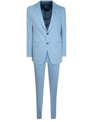 Комбинированный костюм Zilli. Цвет: голубой