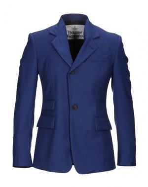 Пиджак VIVIENNE WESTWOOD. Цвет: ярко-синий