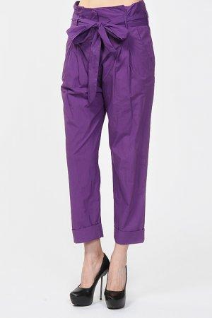 Брюки Fairly. Цвет: фиолетовый