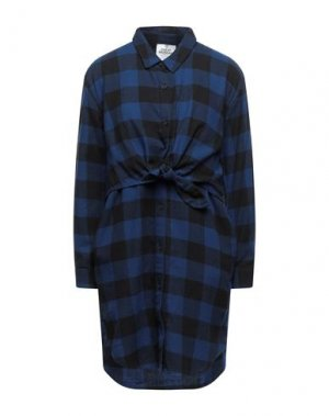 Короткое платье CHEAP MONDAY. Цвет: темно-синий