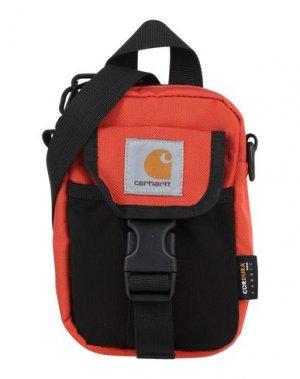 Сумка через плечо CARHARTT. Цвет: оранжевый
