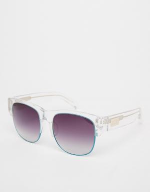 Солнцезащитные очки в полуоправе Matthew Williamson