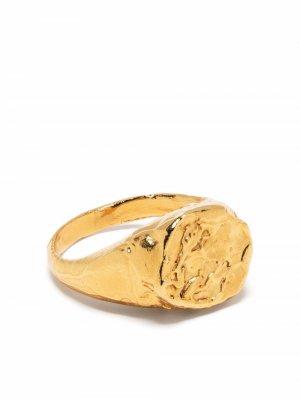 Перстень Pisces Alighieri. Цвет: золотистый