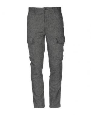 Повседневные брюки ANERKJENDT. Цвет: стальной серый