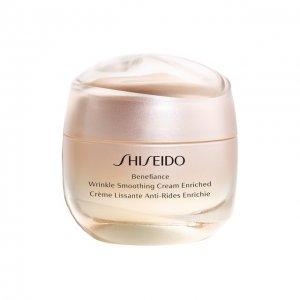 Питательный крем, разглаживающий морщины Benefiance Shiseido. Цвет: бесцветный