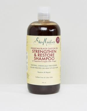 Укрепляющий шампунь с черным касторовым маслом -Бесцветный Shea Moisture