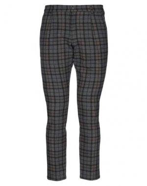 Повседневные брюки HAVANA & CO.. Цвет: стальной серый