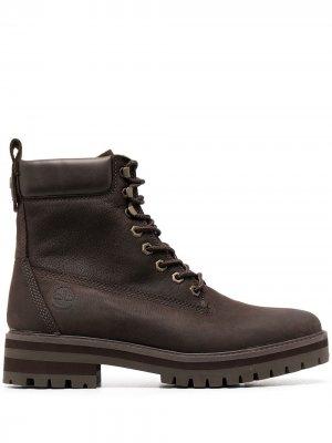 Padded-ankle boots Timberland. Цвет: коричневый