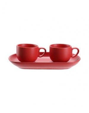 Для чая и кофе BITOSSI HOME. Цвет: красный