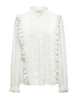 Pубашка JOIE. Цвет: белый