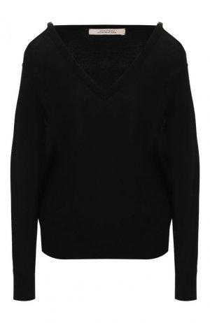Шерстяной пуловер Dorothee Schumacher. Цвет: черный