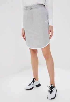 Юбка PUMA Summer Skirt. Цвет: серый