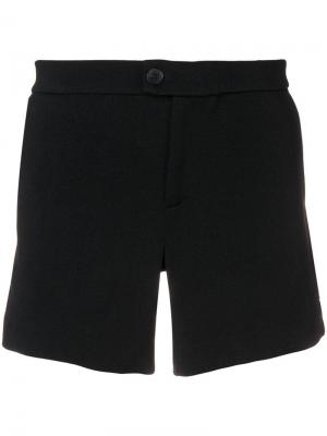 Теннисные шорты Ron Dorff. Цвет: черный